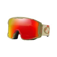 Oakley Sammy Carlson/Line Miner Razor Camo Snow Goggles Red w/Prizm Torch 2019