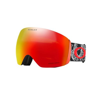Oakley Seth Morrision Flight Deck™ Snow Goggles CraneosMuertos Red w/Prizm Torch 2019