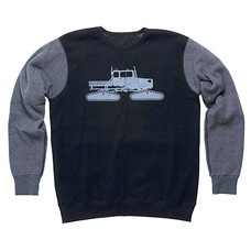 Spacecraft Snowcat Raglan Crew
