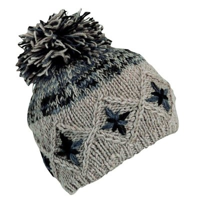 Turtle Fur Nepal Kukee Pom Wool Hat