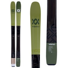 Volkl 100Eight Flat Skis (Skis Only) 2018