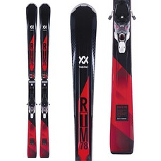 Volkl RTM 78 Ski with 4Motion XL 12.0 TCX D Binding 2018