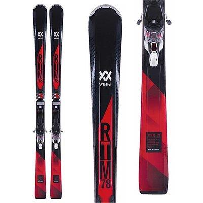 Volkl RTM 78 Ski with 4Motion XL 12.0 TCX D Binding 2018