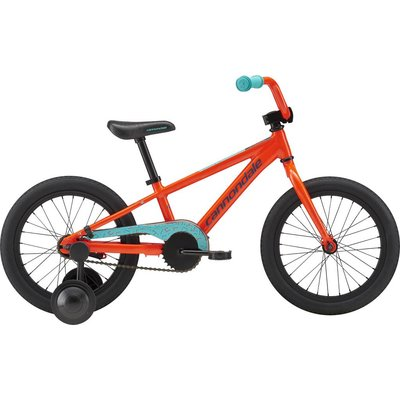 "Cannondale Youth 16"" Trail Single Speed Acid Red (ARD) 2019"