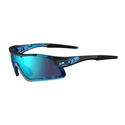 Tifosi Davos Crystal Blue Sunglasses w/Clarion Blue-AC Red-Clear Lens
