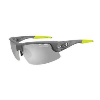 Tifosi Crit Matte Smoke Sunglasses w/ Smoke Fototec Lens