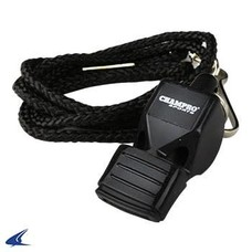 Champro Official's Whistle w/Lanyard & Cushion