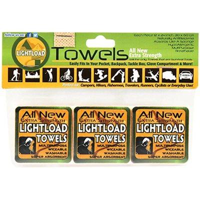 """Lightload Towels Three Pack 12""""x24"""""""