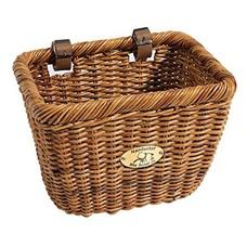 """Nantucket Bike Baskets Cisco Rectangle Basket 13"""" (l) x 10.75"""" (w) x 9.5"""" (h) Natural"""