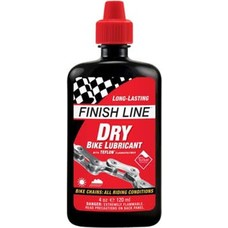 Finish Line DRY Bike Chain Lube - 4 fl oz, Drip
