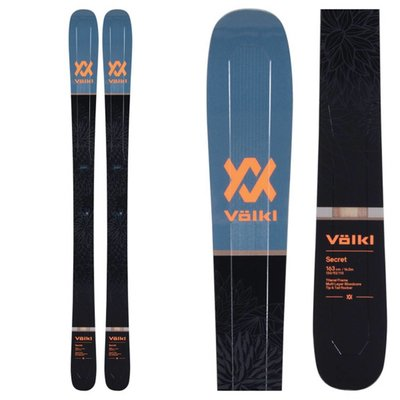 Volkl Women's Secret Skis (Ski Only) 2019