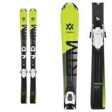 Volkl RTM Jr Skis with vMotion Jr 7.0 Bindings 2019
