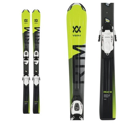 Volkl RTM Jr Skis with vMotion Jr 7.0 Bindings 2019
