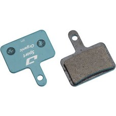 Jagwire Sport Organic Disc Brake Pads for Shimano Deore T615, M525, M515, M515-LA, Alivio M4050, Tektro Auriga, TRP Hylex, Spyre