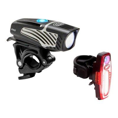 NiteRider Lumina Micro 650 and Sabre 80 Headlight and Taillight Set