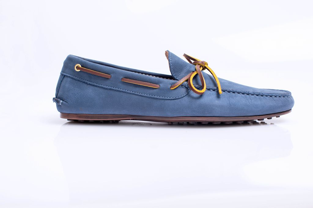 BERMUDA NAUTICAL BLUE LOAFER