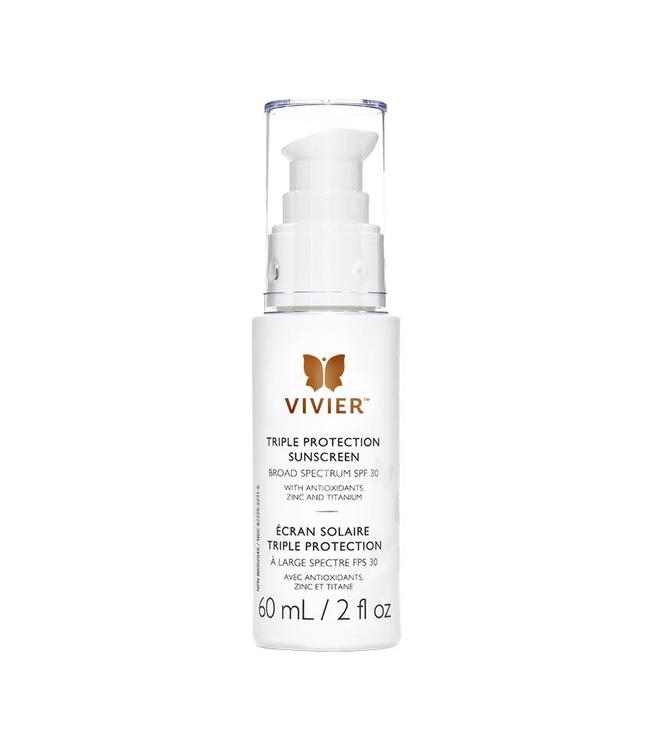 Vivier Triple Protection Sunscreen SPF 30 (60 mL / 2 fl. oz.)