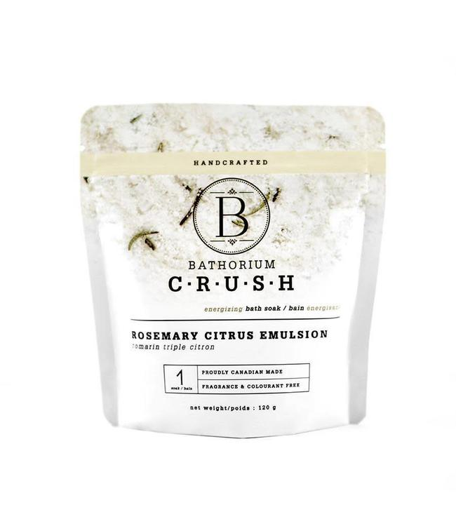 Bathorium Rosemary Citrus Emulsion Crush 120g