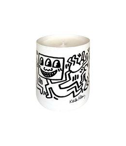 "Keith Haring Bougie parfumée ""White & Black"" 140g"