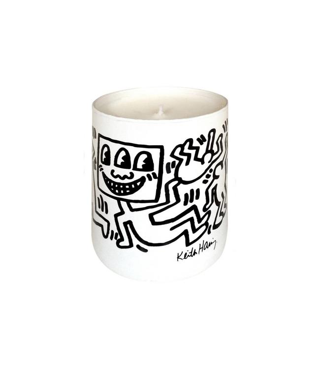 Keith Haring White & Black Drawing Candle 140g