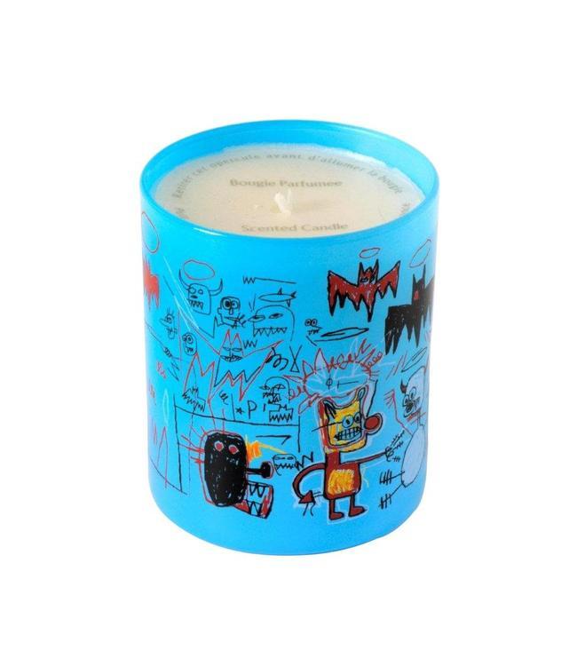 """Jean-Michel Basquiat Bougie parfumée 'Blue"""" 140g"""