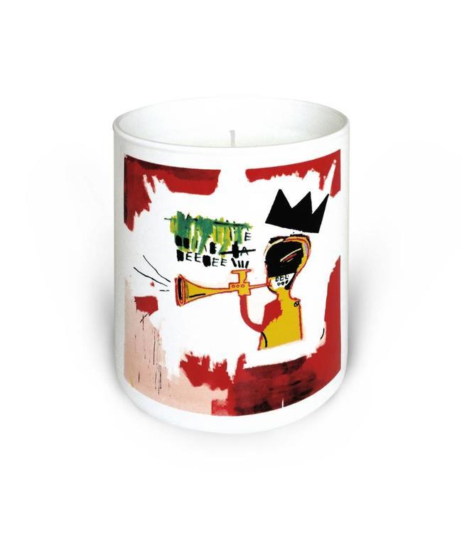 """Jean-Michel Basquiat Bougie parfumée """"Trompette"""" 140g"""