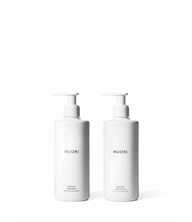 NUORI Duo gel nettoyant et crème pour les mains  2 x 300ml