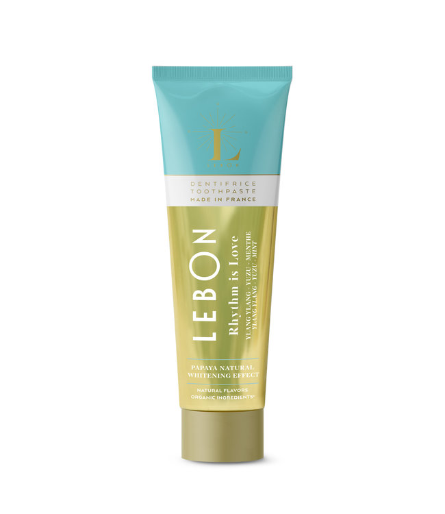 "LEBON Dentifrice ""Rhythm is Love"" - Ylang Ylang Yuzu & Menthe 25ml"