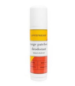 LoveFresh Patchouli orange doux  Déodorant Format voyage 0.65oz