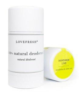 LoveFresh Mandarin Lime Deodorant 3.7oz