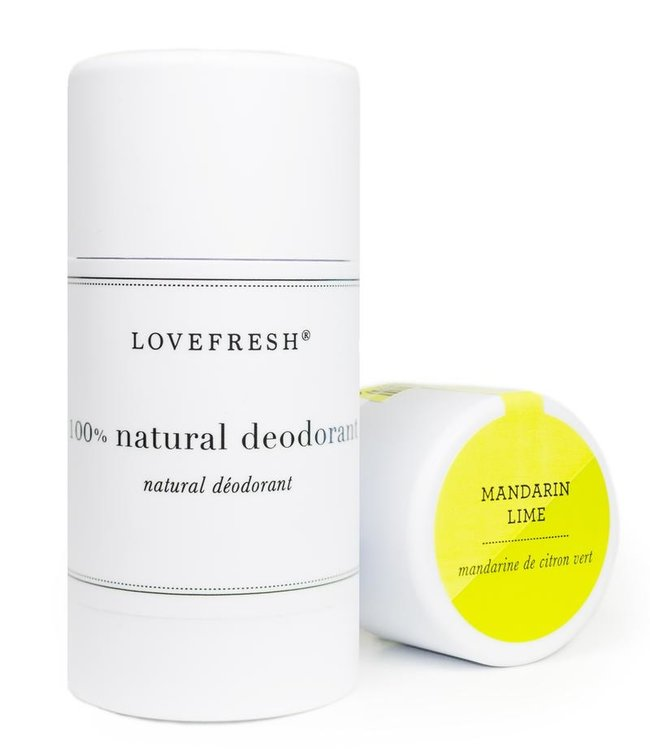 LoveFresh Mandarin de citron vert Déodorant 3.6oz