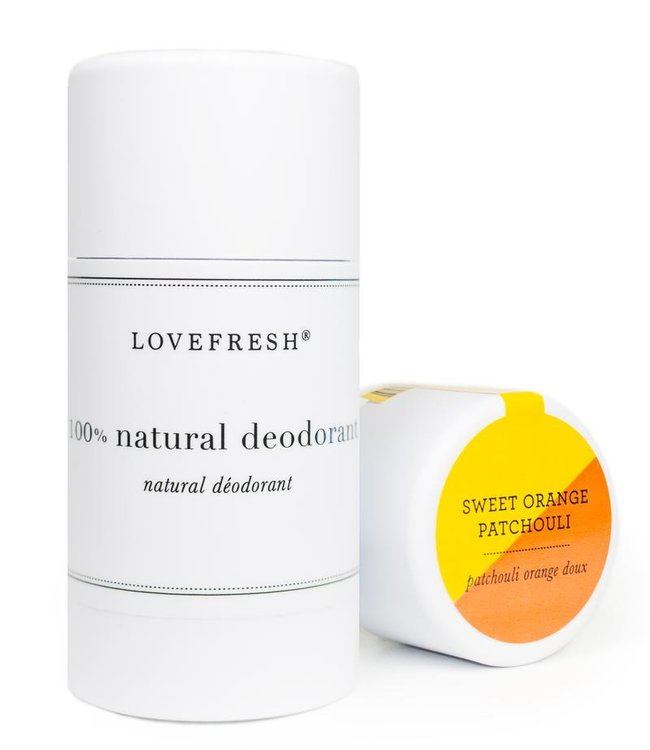 LoveFresh Sweet Orange Patchouli Deodorant 3.6oz