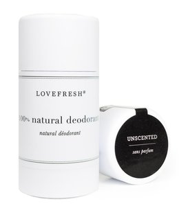 LoveFresh Unscented ( Naked) Deodorant 3.6oz