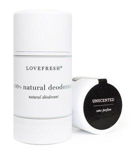 LoveFresh Unscented ( Naked) Deodorant 3.7oz