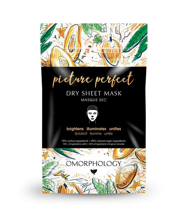 Omorphology Picture Perfect  - Dry Sheet Mask