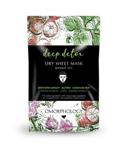 Omorphology Deep Detox - Dry Sheet Mask