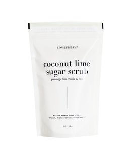 LoveFresh Coconut Lime Sugar Scrub 510g