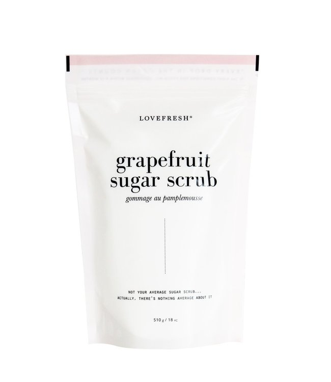 LoveFresh Grapefruit Sugar Scrub 510g