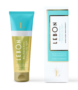 "LEBON Dentifrice ""Rythm is Love"" - Ylang Ylang Yuzu & Menthe 75ml"