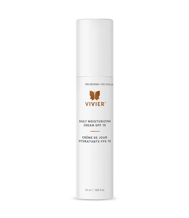 Vivier Moisturizing Cream with SPF 15 55ml