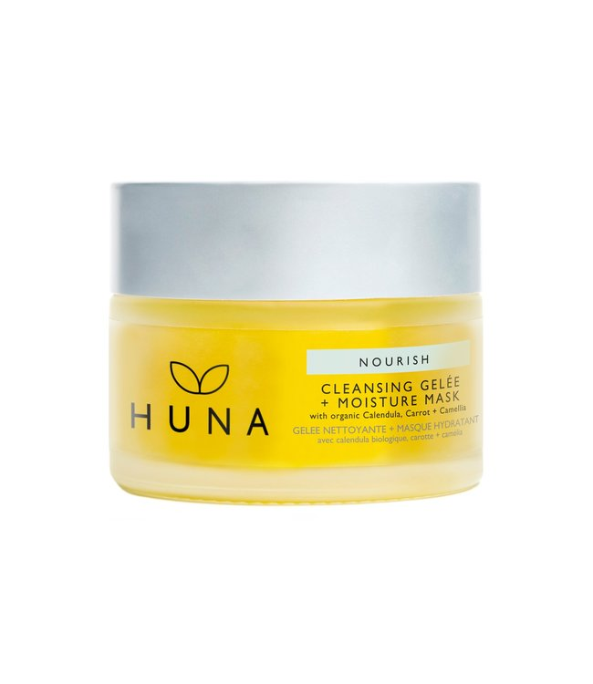 Huna Nourish Cleansing Gelée + Moisture Mask 40g
