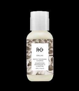R+CO Shampooing épaississant à la biotine DALLAS Format voyage 60ml