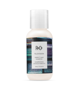R+CO Shampooing Cheveux Parfaits TELEVISION Format voyage 50ml