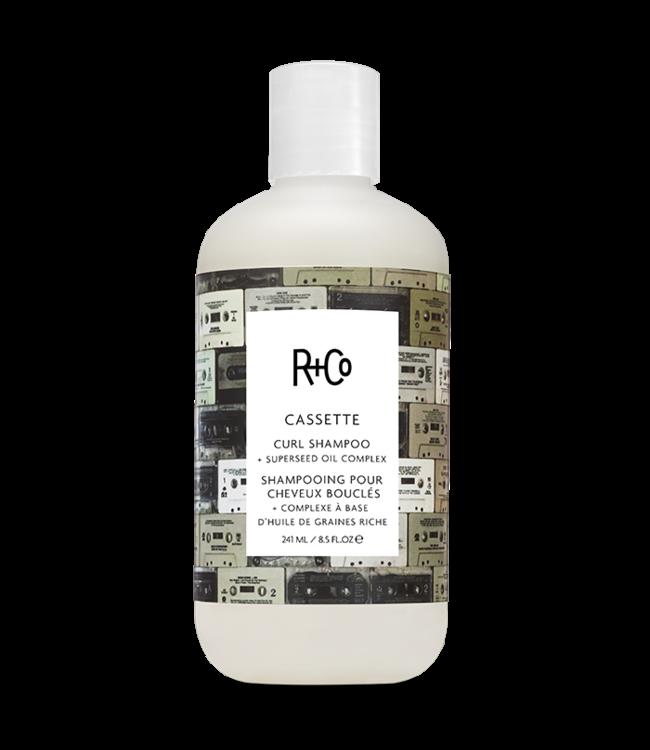 R+CO Shampooing pour boucles CASSETTE 241ml