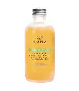Huna Exfoliant tonique à l'extrait de fruits AHA 100ml