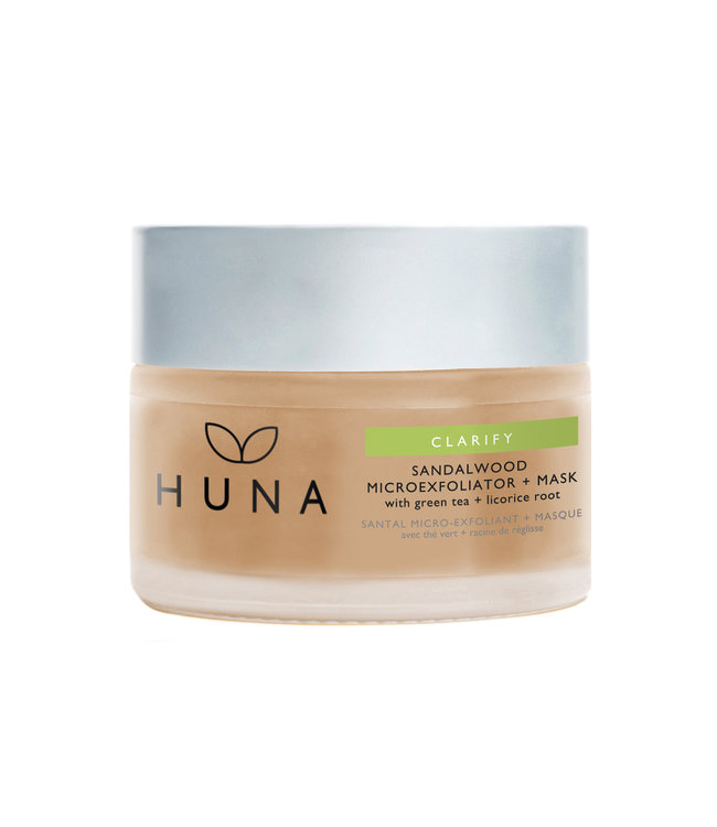 Huna Sandalwood Microexfoliator and Mask 20g