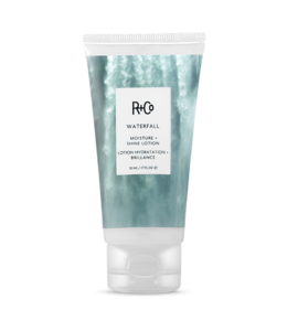 R+CO Lotion hydratation + brilliance WATERFALL Format voyage 50ml