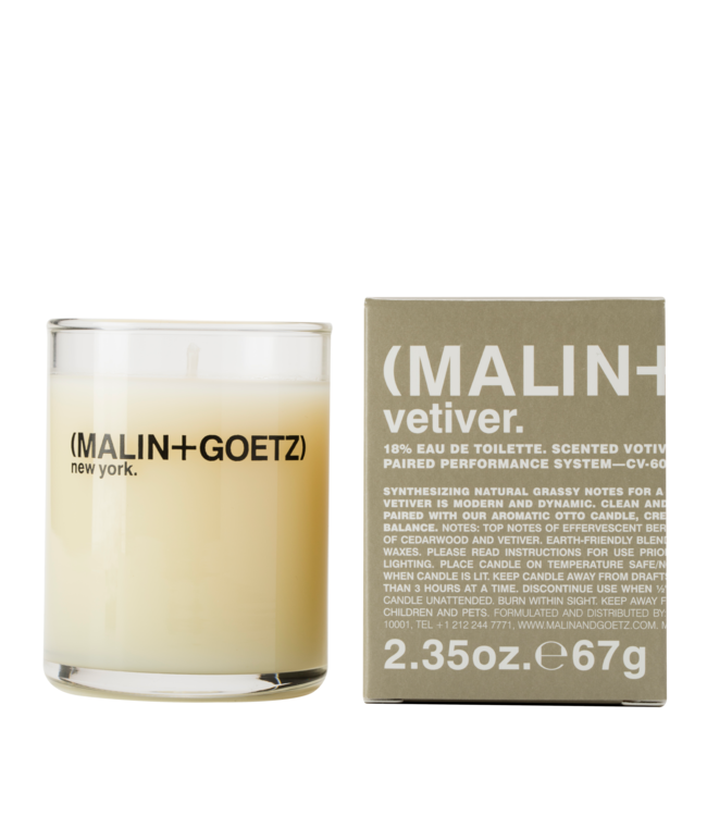 (MALIN+GOETZ) Mini Bougie Vetiver 2.35oz/67g