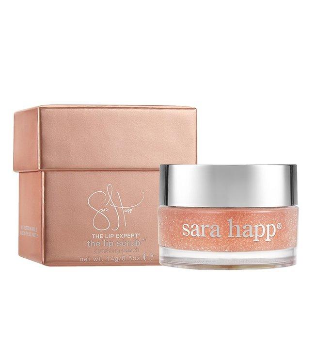 Sara Happ  Exfoliant pour les lèvres Sparkling Peach