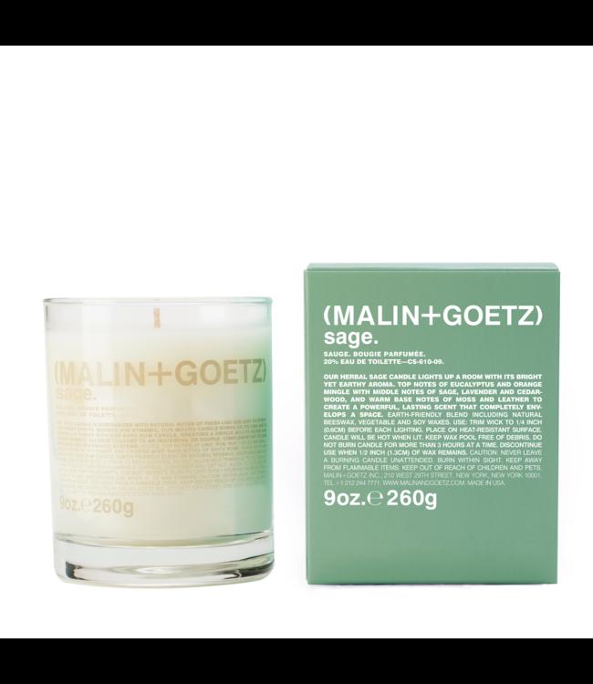(MALIN+GOETZ) Bougie à la sauge 9oz/260g